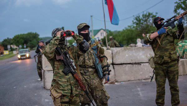 """Нацгвардия атаковала позиции ополченцев на КПП """"Красный партизан"""""""