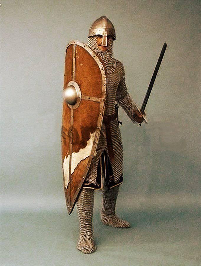 Развитие доспехов в средние века в Западной Европе