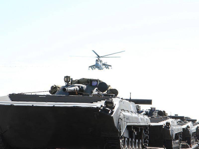 Завершена внезапная проверка войск ЦВО