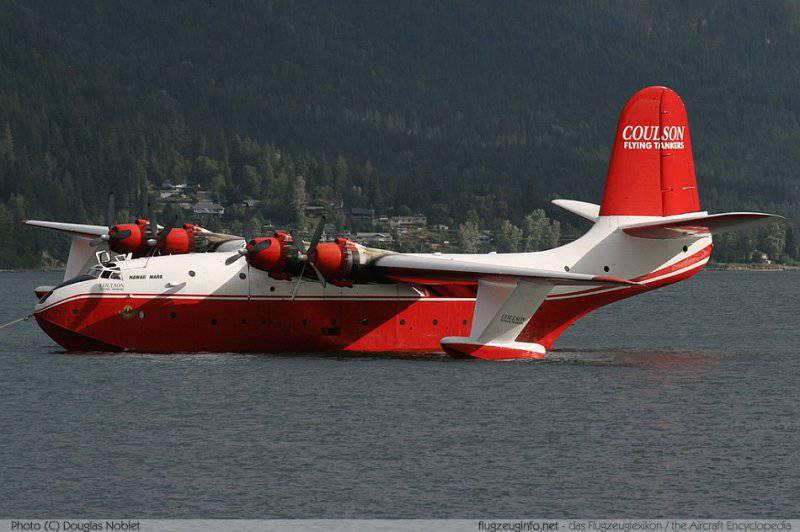 Летающие лодки Martin JRM Mars