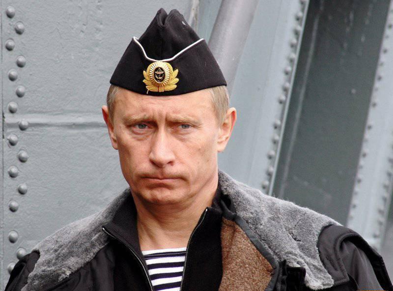 Второе тело Владимира Путина