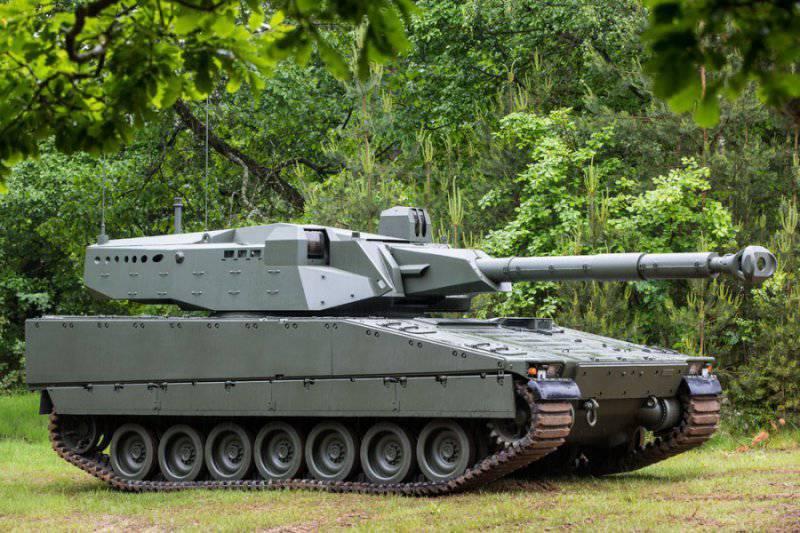 CMI Defence и BAE Systems Hägglunds представили новый средний танк