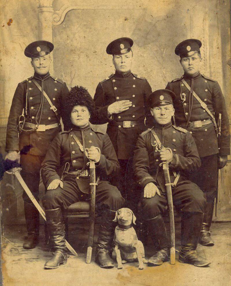Казаки в конце XIX века