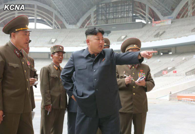 КНДР провела испытания ракеты