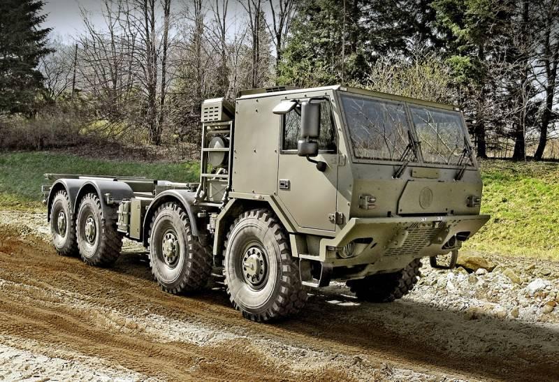 Компания Tatra показала две новые машины