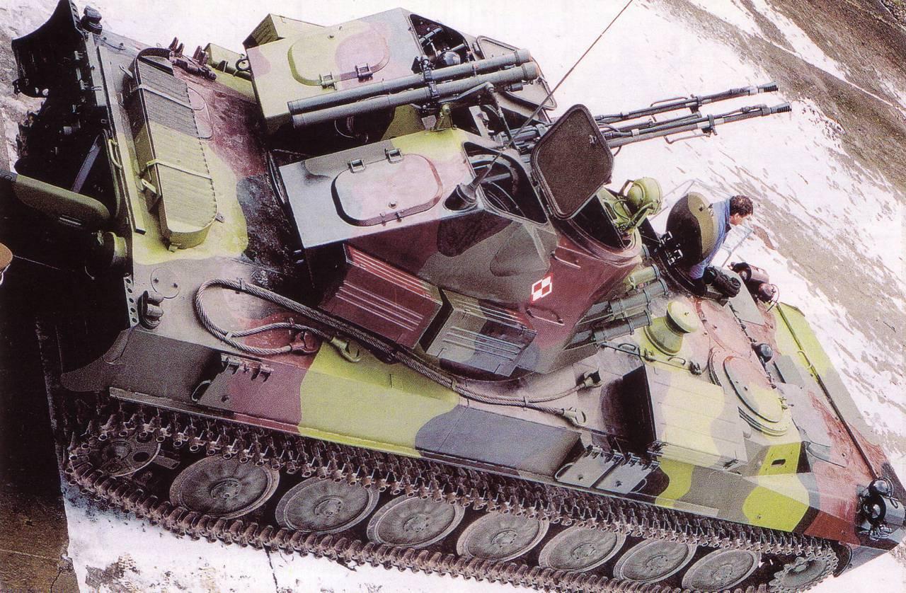 Зенитные ракетно артиллерийские комплексы