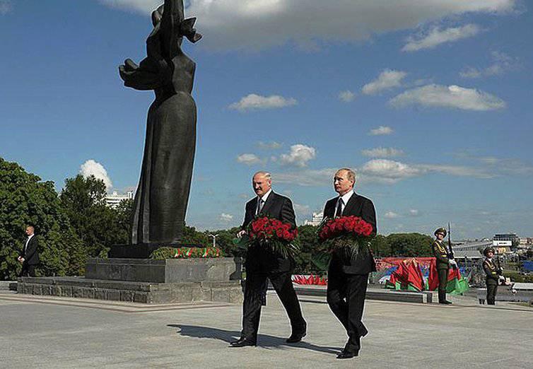 Лукашенко: Вместо благодарности за победу над фашизмом мы видим от Запада диктат и санкции