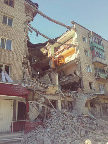 Сообщения о вхождении украинской бронетехники в Славянск