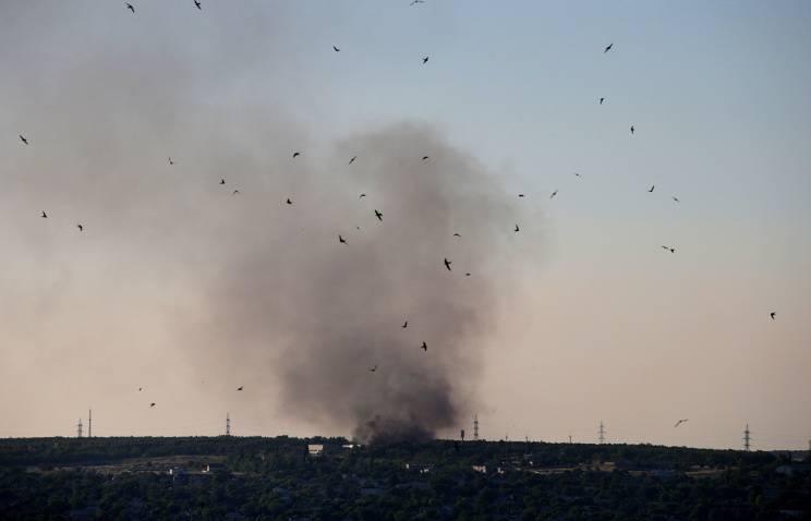 Погрануправление ФСБ: более десяти российских силовиков подверглись артобстрелу с Украины