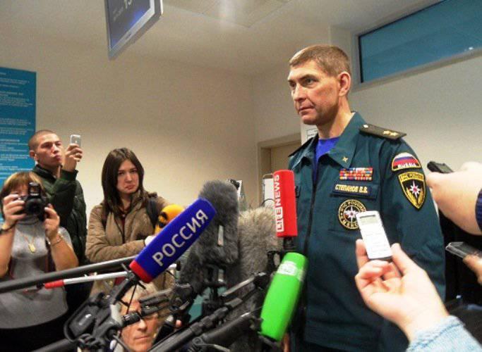МЧС РФ готово предоставить авиатранспорт для эвакуации пострадавших с востока Украины