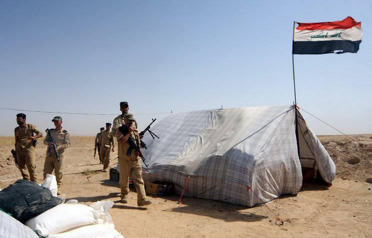 Иракские правительственные силы заняли военную базу Спайкер в городе Тикрит