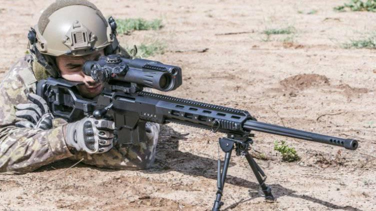 Nuevo rifle de francotirador israelí IWI DAN