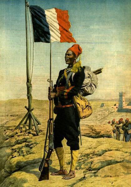 Senegalli oklar: Fransa'nın kara askerleri