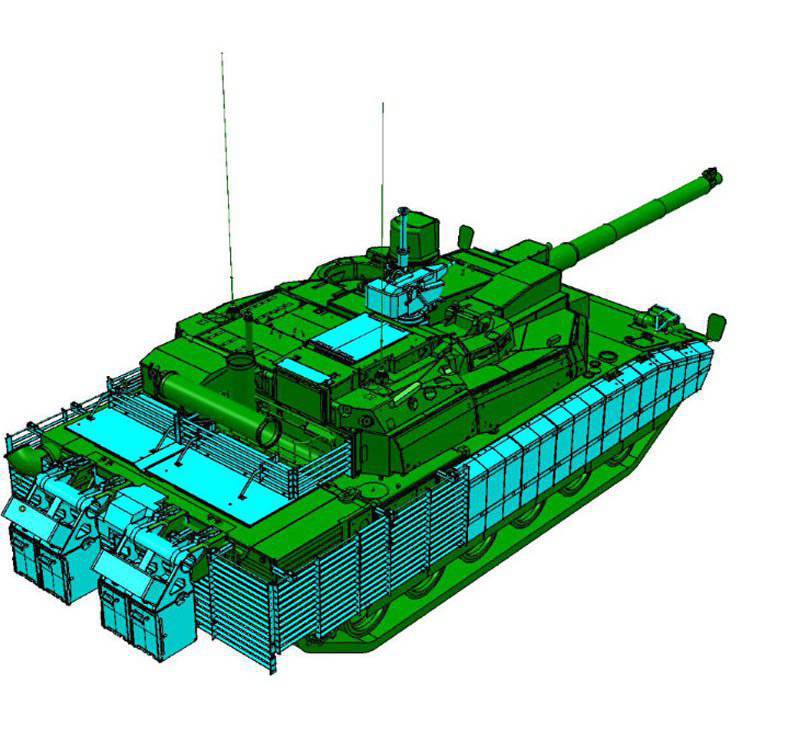 Modernization of MBT with the aim of increasing their combat effectiveness in urban environments