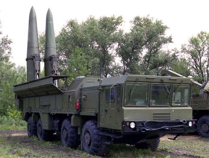 """Batı Askeri Bölge Birlikleri, operasyonel-taktik füze kompleksi """"İskender-M"""" nin tugayını aldı."""