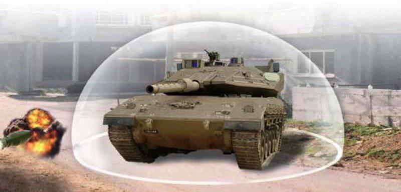 """Windbreaker"" defended the Israeli tank from anti-tank missiles"