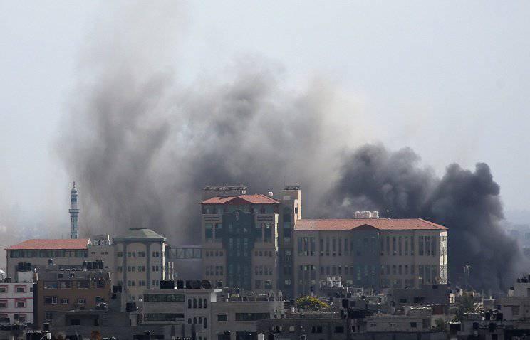 Армия обороны Израиля уничтожила 30 целей на территории сектора Газа