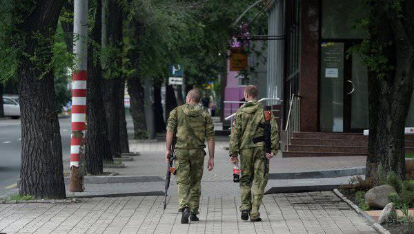 Ночные перестрелки на улицах Донецка