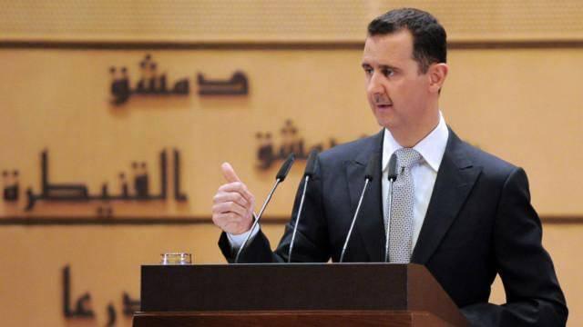 Победивший на выборах президента Сирии Башар Асад принёс присягу
