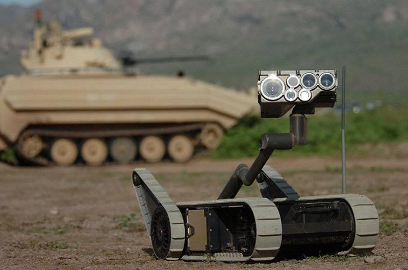 ¡Lucho por el cuerpo eléctrico! Robots móviles de tierra en el campo de batalla de hoy y mañana. Visión general de la tecnología de los Estados Unidos
