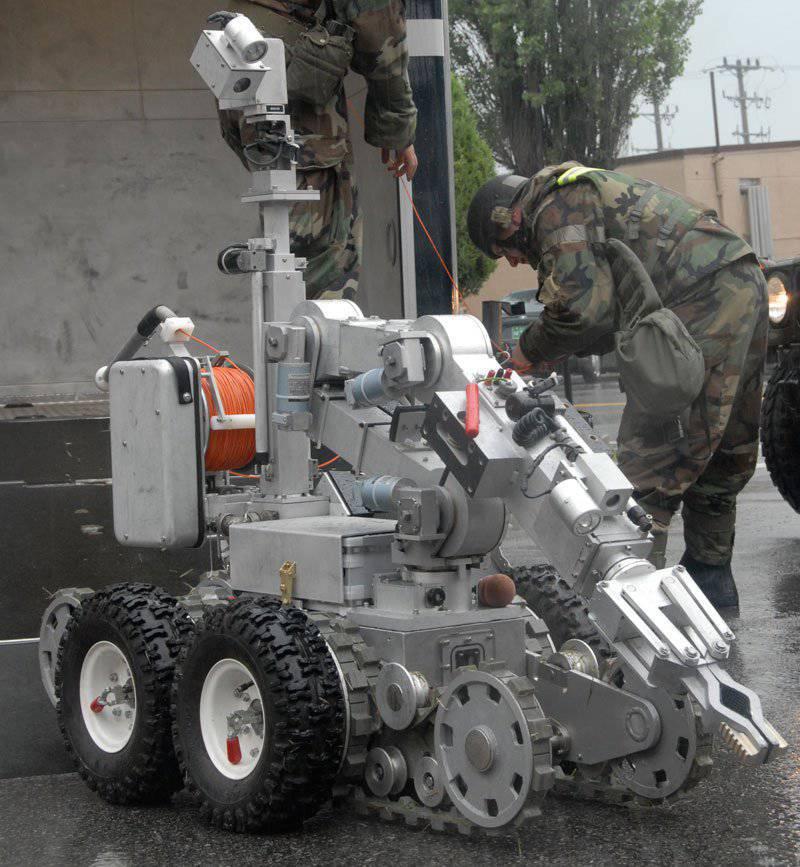 Я борюсь за электрическое тело! Наземные мобильные роботы на сегодняшнем и завтрашнем поле боя. Обзор техники США