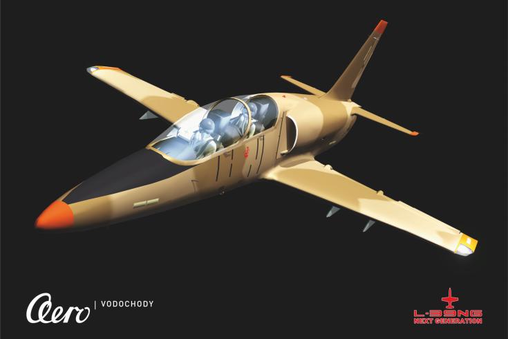 捷克公司推出了战斗训练机L-39NG