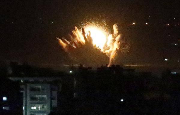 Первые жертвы наземной операции Израиля в секторе Газа