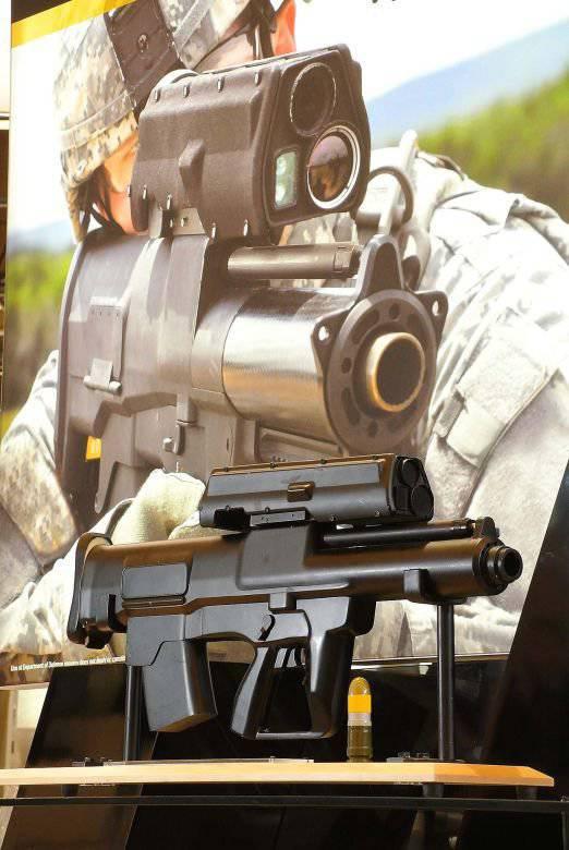 XM25 launcher semi-automatico per granate