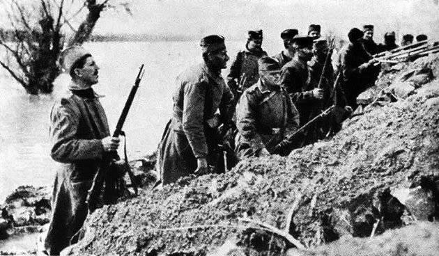 Frente serbio de la Primera Guerra Mundial