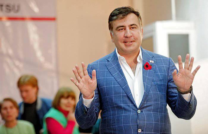 ミハイルSaakashviliは、オフィスの虐待で起訴されました