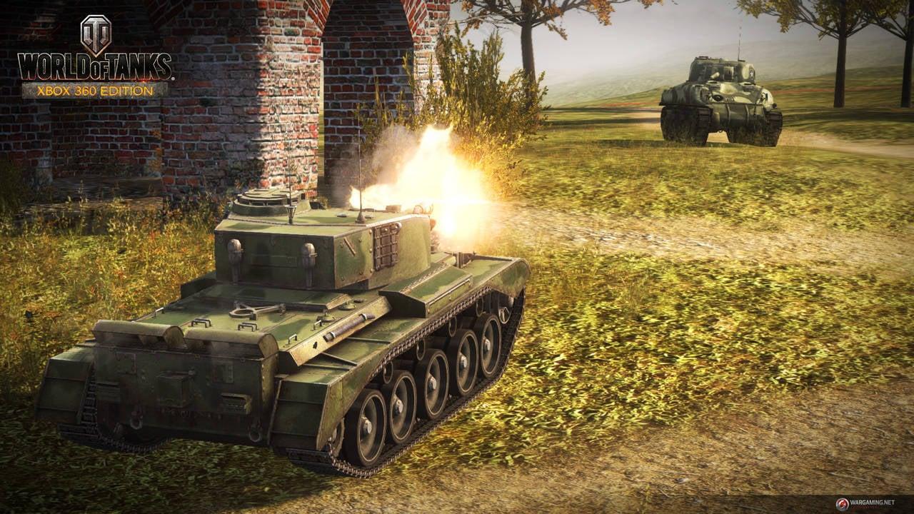 Геймплей World of Tanks на xBox 360