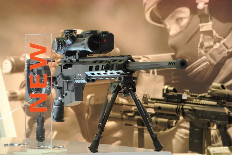 Новая израильская снайперская винтовка IWI DAN