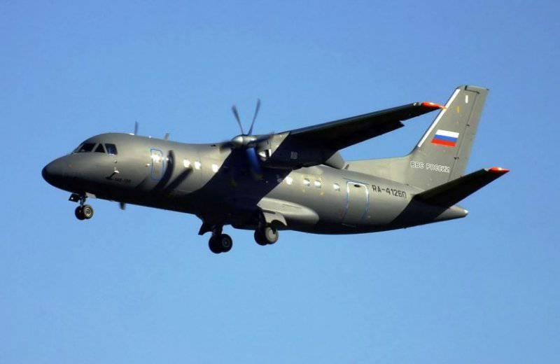 Очередной транспортник Ан-140 будет передан ВВС России