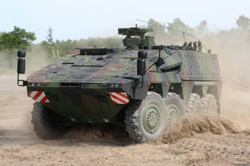 Нидерланды получили первые серийные машины Boxer