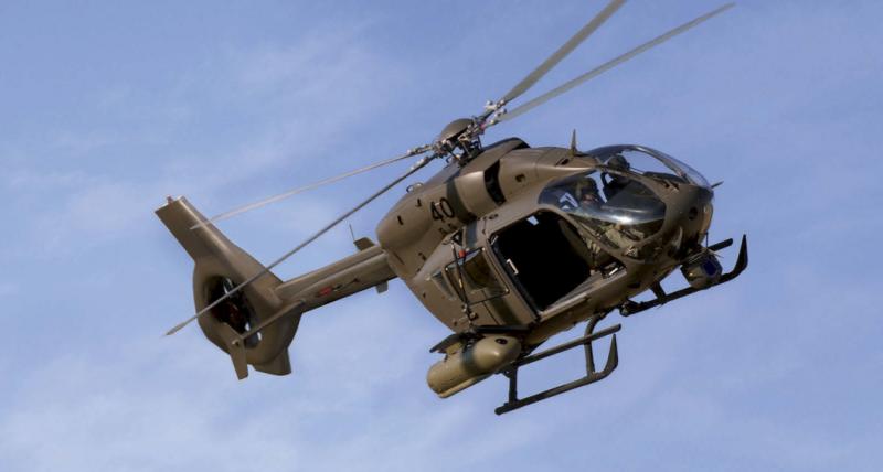 Транспортно-боевой вертолет Airbus Helicopters EC645 T2