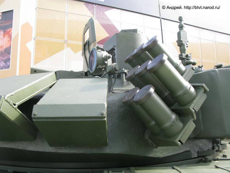 Модернизированный танк Т-72Б (Т-72Б3 с дополнительными опциями). MILEX 2014