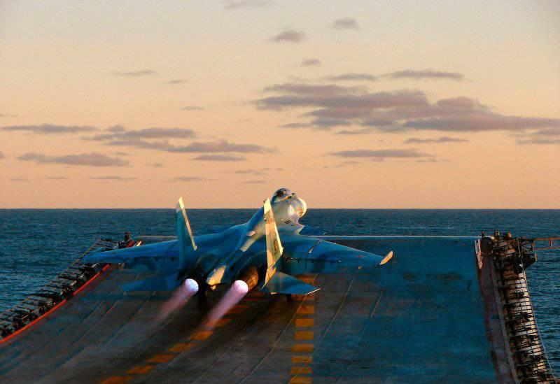 Перспективы морской авиации РФ