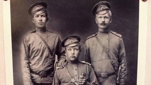 На выставке, посвященной Первой мировой войне, был представлен портрет деда Чуркина