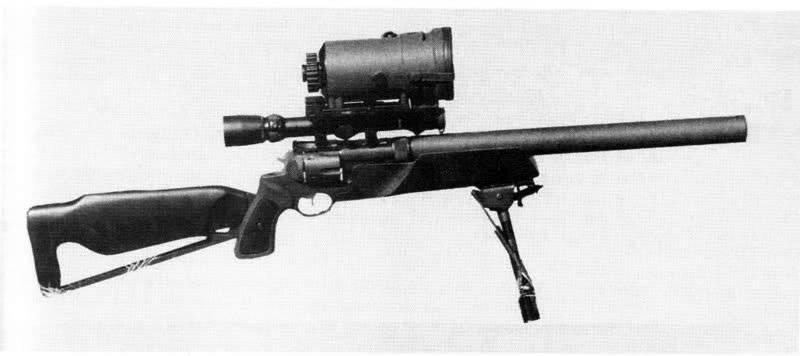 Снайперская винтовка KAC Revolver Rifle (США)