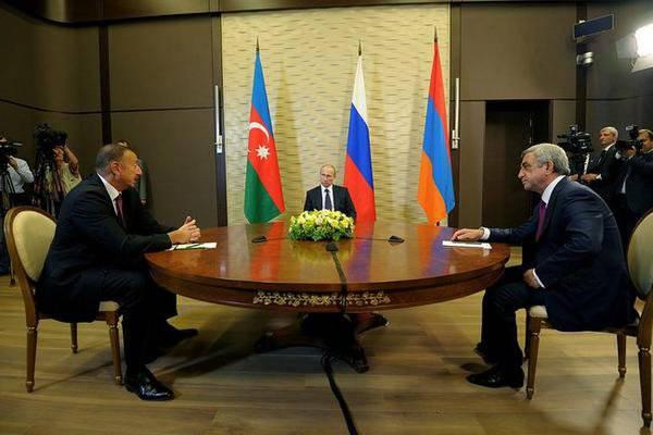 俄罗斯,亚美尼亚和阿塞拜疆总统讨论解决卡拉巴赫危机的问题