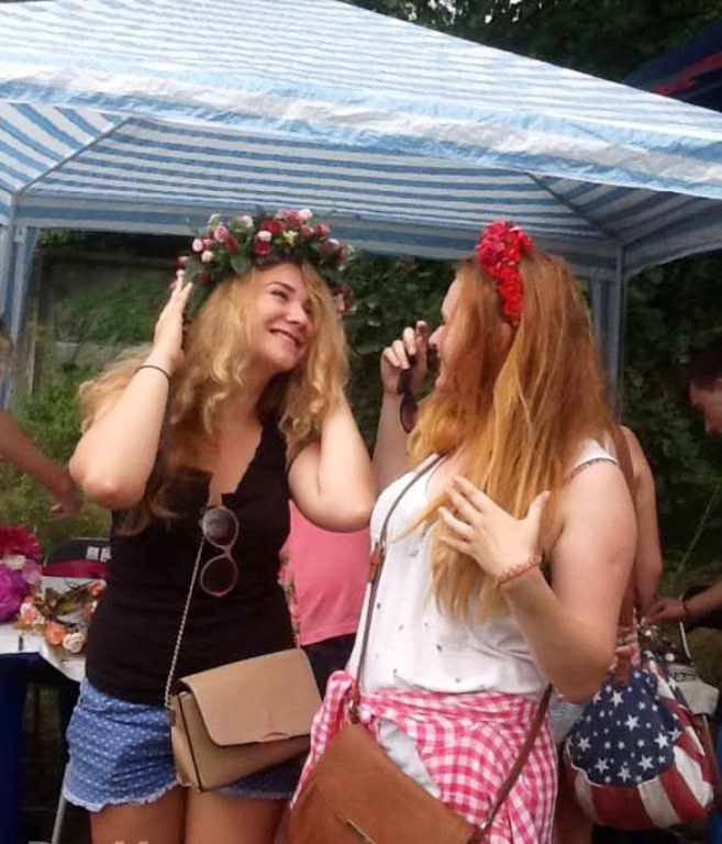 """""""Primavera rusa"""" en el festival de colores en Kiev y derramamiento de sangre en el Donbas"""
