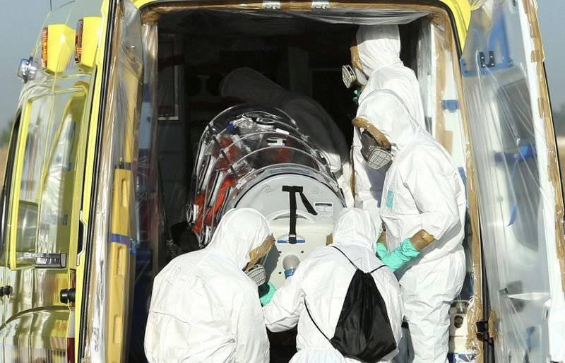 Febre do Ebola se transforma em uma ameaça de importância internacional