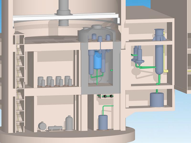 미국에서는 원자력 폐기물을 처리하는 원자로를 개발하고있다.