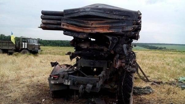 Informes de la milicia de Nueva Rusia para 19 Agosto 2014 del año