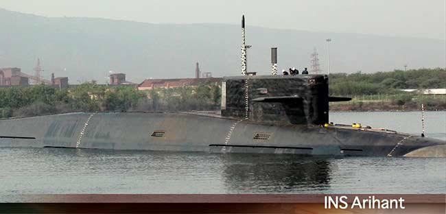 La première photo de qualité du sous-marin indien Arihant