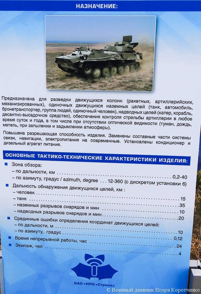 NPO Strela ने एक रडार टोही वाहन SNAR-10М1 दिखाया है