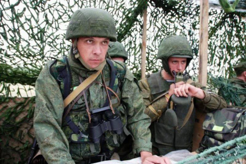 В Псковской области проходят учения десантников