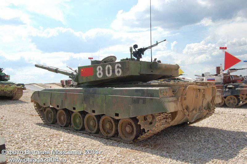 Танковый биатлон: танк «Тип 96А», соревнования и подозрения
