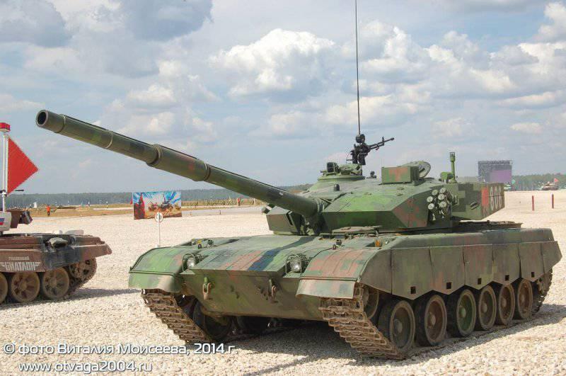Танковый биатлон: танк «Тип 96А