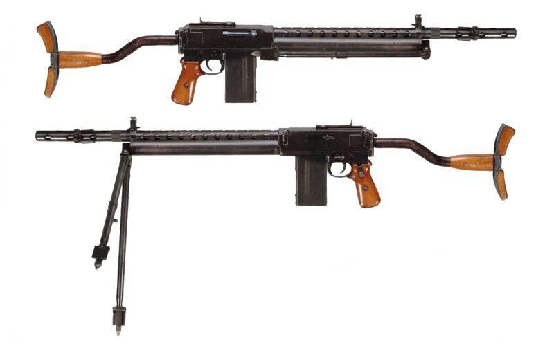Ручной пулемет Wiebel M/1932 (Дания)